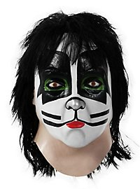 Original Kiss Catman Maske aus Latex