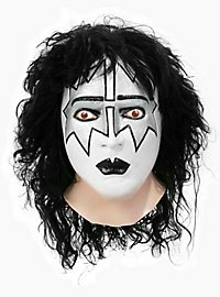 Original Kiss Spaceman Maske aus Latex