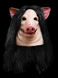 Original Saw Pig Deluxe Schweinemaske aus Latex