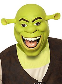 Original Shrek Maske aus Latex