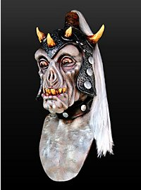 Ork Kriegsherr Maske aus Latex