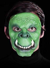 Ork Maske des Grauens aus Latex