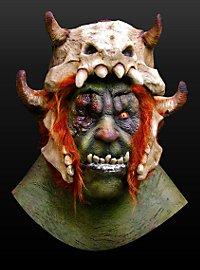Orkberserker Maske aus Latex