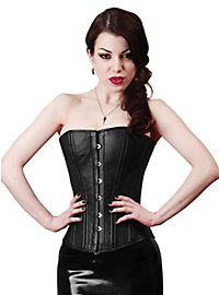 Overbust Corset Leather black