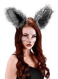 Oversized Wolf Ears