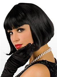 Pageboy black Wig