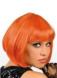 Pageboy orange Wig