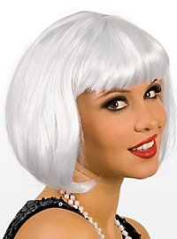 Pageboy platinum Wig