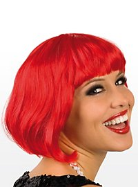 Pageboy red Wig
