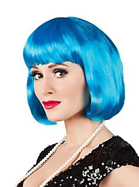 Pageboy Wig icy blue