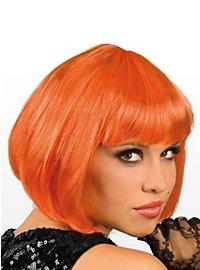 Pagenschnitt orange Perücke