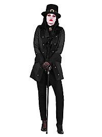 Paisley Damenmantel schwarz