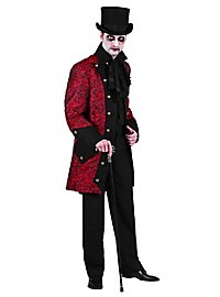Paisley Men's Coat red