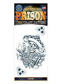 Pancho Temporary Prison Tattoo