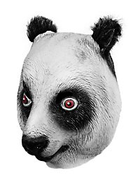 Panda Maske aus Latex