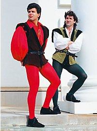 Pantalon de chevalier vert