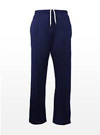 Pantalon de sport rétro bleu foncé