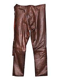 Pantalon en cuir Robin des Bois