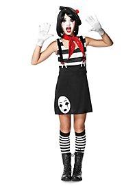 Pantomimin Kostüm für Jugendliche