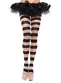 Pantyhose nude striped