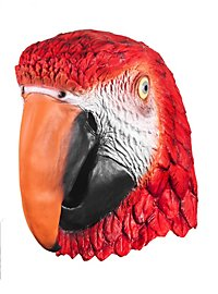 Papagei Maske aus Latex