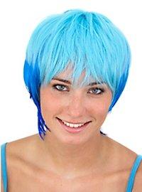 Party Girl blau Perücke