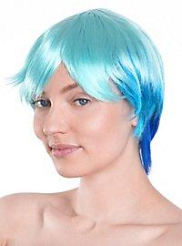 Party Girl bleu Perruque