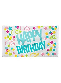 Partybanner Happy Birthday