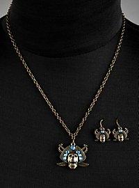 Parure de bijoux « pirates maudits » bleue