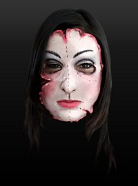 Patchwork Girl Latex Half Mask
