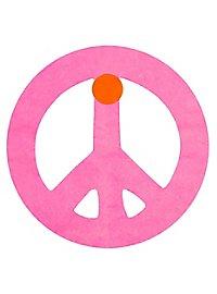 Peace Papiergirlande 4 Meter
