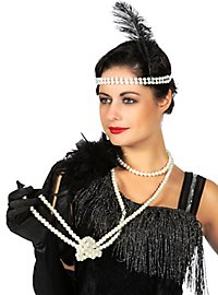 Pearl necklace extra long
