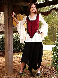 Peasant Girl Skirt black