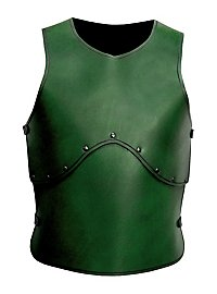 Leather Armour - Man-at-Arms green