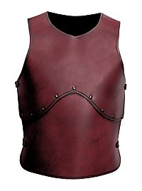 Leather Armour - Man-at-Arms red