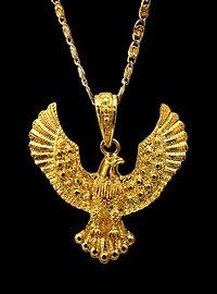 Pendentif aigle doré