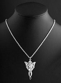 Pendentif et chaîne Étoile de la nuit d'Arwen Seigneur des Anneaux