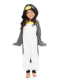 Penguin Kigurumi Child Costume