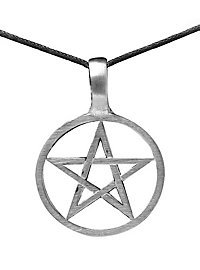 Pentagram Necklace black