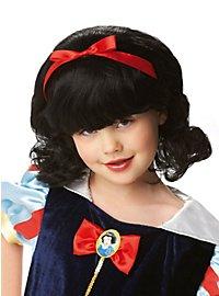 Perruque Blanche-Neige pour enfant
