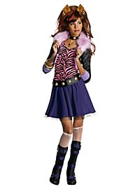 Perruque Clawdeen Wolf Monster High pour enfant