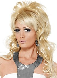 Perruque de reine de beauté des années 60
