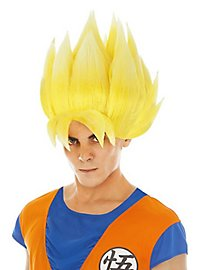 Perruque de Sangoku Dragon Ball Z jaune