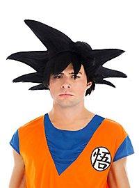 Perruque de Sangoku Dragon Ball Z noire