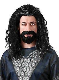 Perruque et barbe Thorin Écu-de-Chêne Le Hobbit