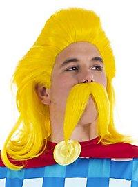 Perruque et moustache d'Assurancetourix