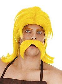 Perruque et moustache de Cétautomatix
