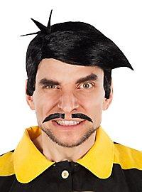 Perruque et moustache Les Dalton