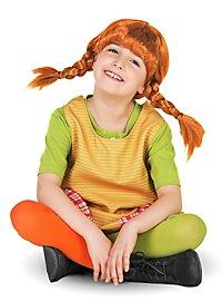 Perruque Fifi Brindacier pour enfant