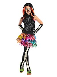 Perruque Skelita Calaveras Monster High pour enfant
